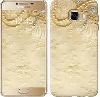 """Чехол на Samsung Galaxy C5 C5000 Кружевной орнамент """"2160u-301-481"""""""