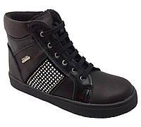 Ботинки Perlina 32BLACK р. 27, 28, 29, 30, 31 Черные