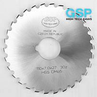 Дисковые фрезы по металлу для изготовления радиусных пазов GSP HSS/DMO5