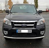 Защита переднего бампера Ford Ranger 2006-2012 ST008