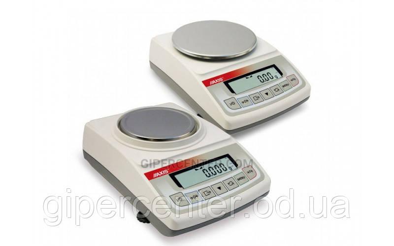 Весы лабораторные АXIS ADA 520 до 520 г, дискретность 0.001 г