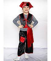 """Новогодний костюм для мальчика """"Пират"""", 3-7 лет"""