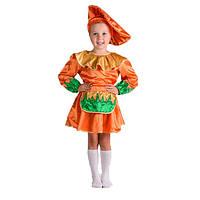 Костюм карнавальный для девочки Гриб-Лисичка