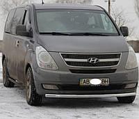 Защита переднего бампера Hyundai H-1 2007- ST008, фото 1