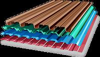 Какой цвет профнастила выбрать для крыши?