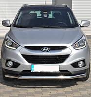Защита переднего бампера Hyundai Ix-35 2010- ST008, фото 1