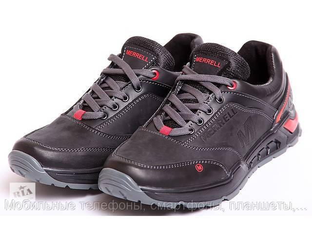 Мужские кроссовки Merrell кожаные черные 44 66f17c3c5b614