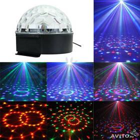 Светомузыка диско шар Magic Ball Music Super Light