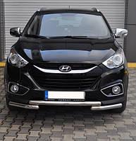 Защита переднего бампера Hyundai Ix-35 2010- ST009