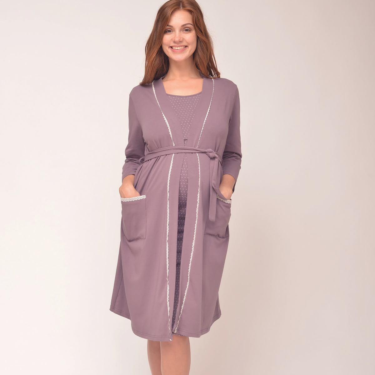 Халат для беременных и кормящих женщин Grace c308938b5cb27