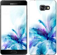 """Чехол на Samsung Galaxy A8 (2016) A810 цветок """"2265u-614-481"""""""