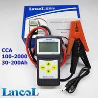 Анализатор акб Lancol MICRO-200 (рус.меню, USB) Ланколь Микро 200