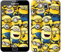 "Чехол на Samsung Galaxy Note i9220 Миньоны 8 ""860u-316-481"""