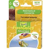 Лакомство Tetra FreshDelica для тропических рыб с дафнией, 48 г
