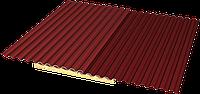 Как правильно положить профнастил на крышу?