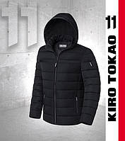 Зимняя куртка японская мужская Киро Токао - 8812 черная