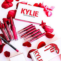Набор Kylie Valentine Edition (Valentine mini mattes)  6 штук