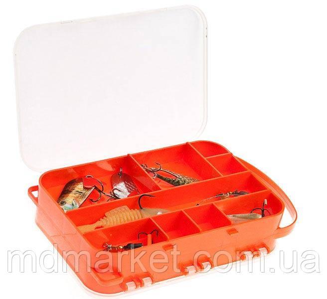 Коробка  Aquatech 2515 (двусторонняя 15 ячеек)