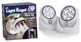 Универсальная подсветка Light Angel, светильник с датчиком движения light angel, светодиодный светильник