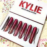 Набор стойких жидких помад Kylie Valentine Edition (реплика)