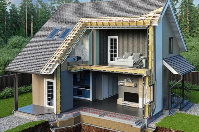 Екодім автономний будинок