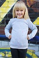 Свитшот детский Бусы (2 цвета) размеры 128-152