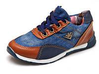 Кроссовки Jong.Golf джинсовые для мальчика 26-31рр