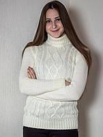 Свитер женский № 1715 р. 42-48 молоко