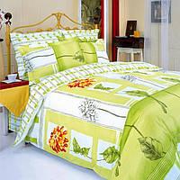 Комплект постельного белья  «Гербера оранжевая» Premium бязь