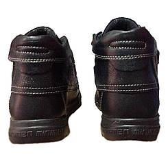 Ботинки Minimen 33BLACKMAKAS р. 25, 26, 27, 28, 29 Черные, фото 3