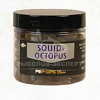 Бойлы Dynamite Baits Foodbait Pop-Ups Squid & Octopus 15мм
