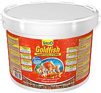 Корм Tetra GoldFish для золотых рыбок в хлопьях, 10 л