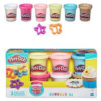 Набор пластилина Play-Doh Confetti B3423 Hasbro, 6 баночек