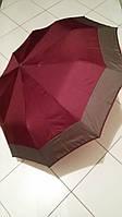 Зонт женский полуавтомат SL на 10 спиц (бордовый)