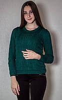Джемпер женский № 1508 р. 42-46 зеленый