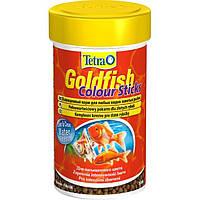 Корм Tetra GoldFish Colour Sticks для золотых рыбок в палочках, улучшение окраса, 100 мл