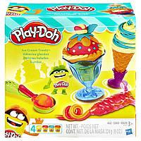Игровой набор с пластилином Play-Doh «Инструменты мороженщика» B1857 Hasbro