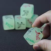 Игровые кубики (неоновые), фото 1