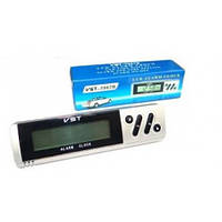 Часы автомобильные с выносным термометром VST 7067, электронные автомобильные часы, часы в авто, часы в машину