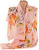Стильный женский шарф, шифон, 150х51 см, Trаum 2495-79, цвет розовый.