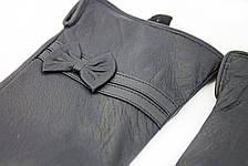 Женские кожаные перчатки ВЯЗКА СЕНСОРНЫЕ Большие W22-160053s3, фото 3