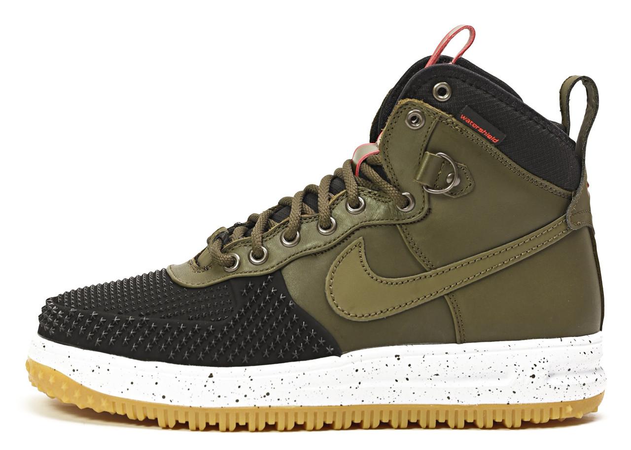 Мужские кроссовки Nike Lunar Force 1 Duckboots (Найк Луна Форс Дакбут,  хаки) - Bigl.ua 06ffa118463