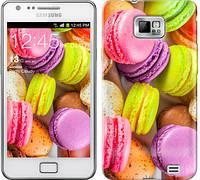"Чехол на Samsung Galaxy S2 i9100 Макаруны ""2995c-14-481"""