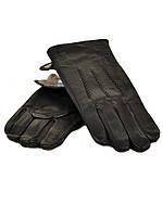 Перчатки Мужские кожа МариClassic шерсть(сетка) оптом от 5 пар