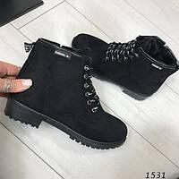 Зимние женские ботинки 2017-18