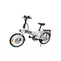 Электровелосипед складной VEGA Mobile белый, черный