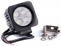 Фара дневного света универсальная светодиодная подвесная 66x66x65 мм, LED 4x3 Вт, 1 шт