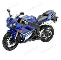 Масштабная модель мотоцикла YAMAHA YZF-R1