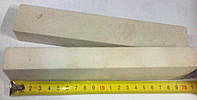 Точильный камень 120 grit 200х40х25 для заточки ножей белый электрокорунд