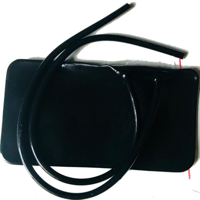 Камера для манжеты механического тонометра с 2-я трубками увеличенная